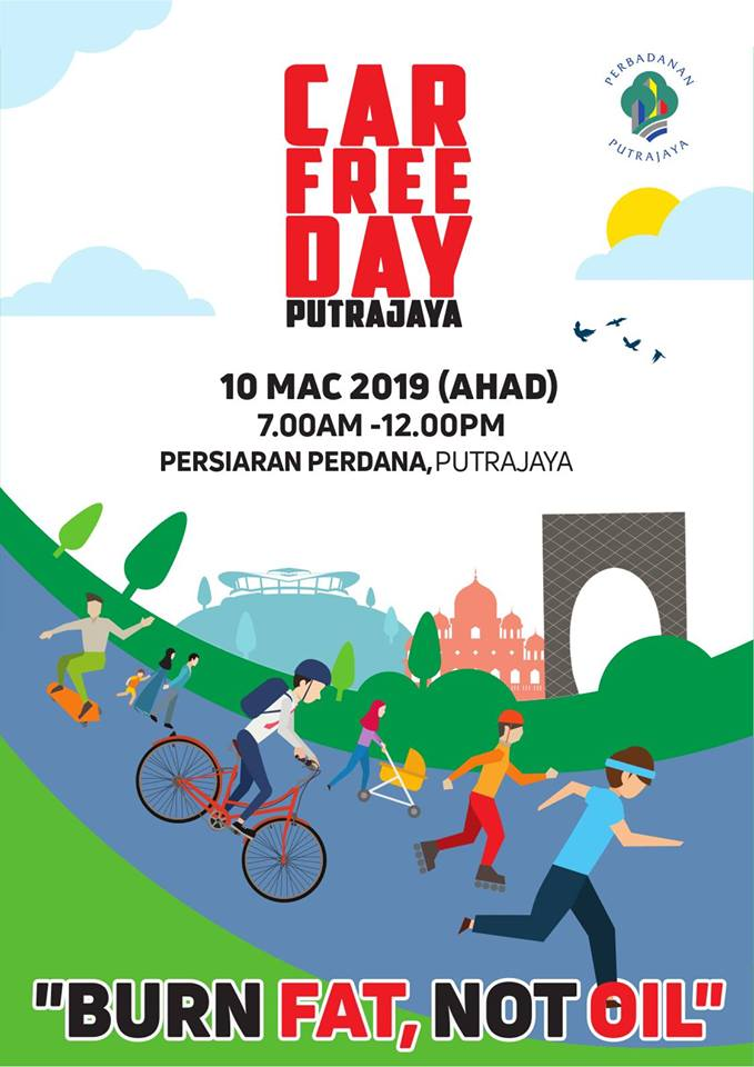 Car Free Day Putrajaya
