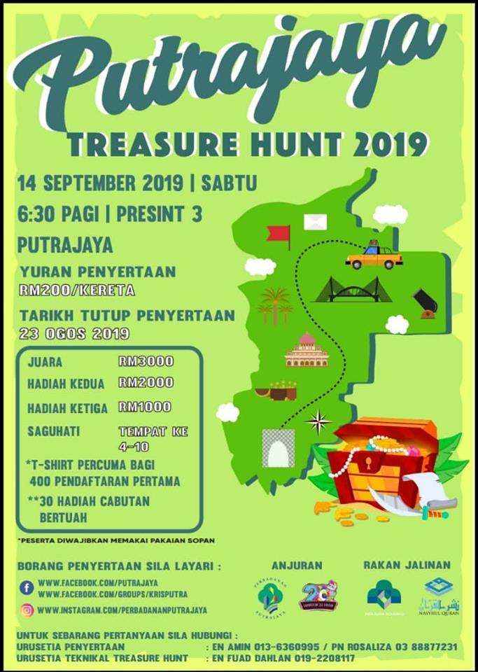 Putrajaya Treasure Hunt 2019